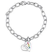Always Heart Bracelet by ArtCarved