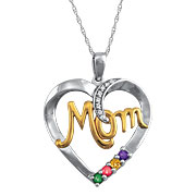 Mom's Love Pendant by ArtCarved
